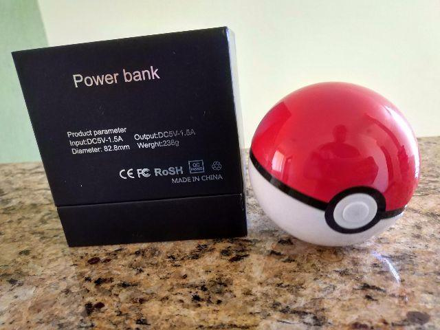 Power Bank Pokebola 10.000mAh