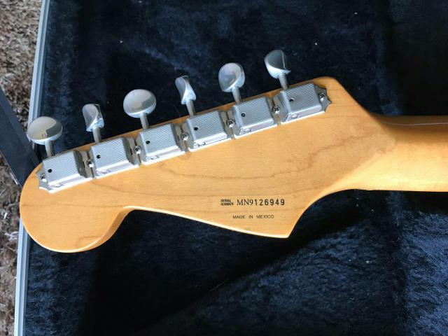 Stratocaster 50's Classic Series MIM