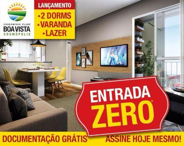 Boa Vista Aptos 2 Dorms 47m2 c/Varanda 1 Vaga,Lazer Completo,Ponto de Ar Condicionado - Foto 2