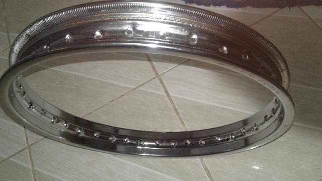 Aro roda dianteira original bros 160