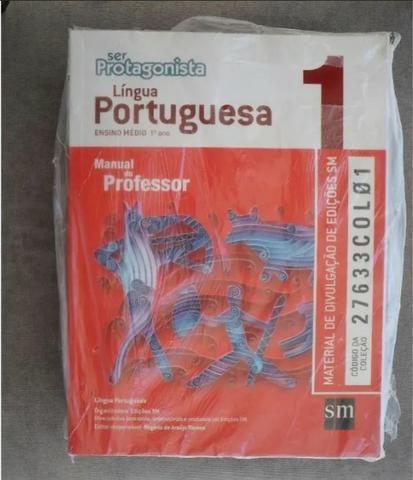 Língua Portuguesa Ser Protagonista Ensino Médio - 3 Volumes - Manual do Professor