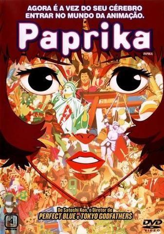 DVD Paprika - Satoshi Kon - Original