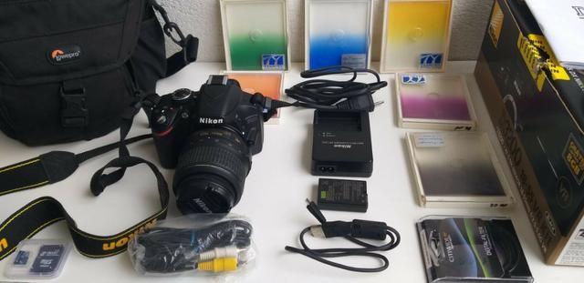 Máquina Fotográfica Nikon D 3200 com excelente kit
