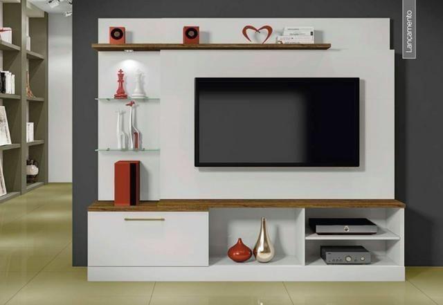 Home para TV até 65 Polegadas com LED 1 Gaveta Floripa- Novo whatsapp *
