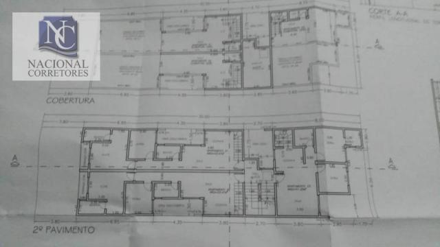 Apartamento com 2 dormitórios à venda, 53 m² por R$ 260.000 - Utinga - Santo André/SP