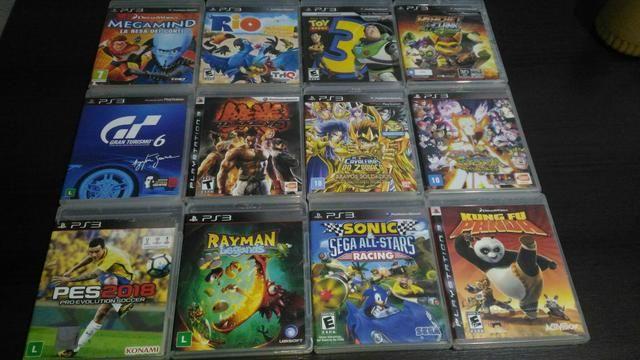 PS3 + jogos infantis mídia digital - Foto 2