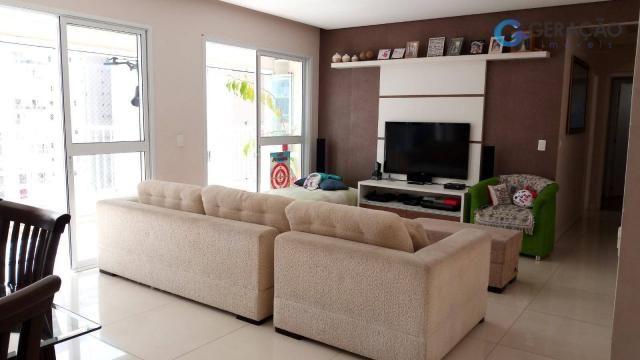 Apartamento com 3 dormitórios à venda, 131 m² por r$ 690.000 - jardim das indústrias - são