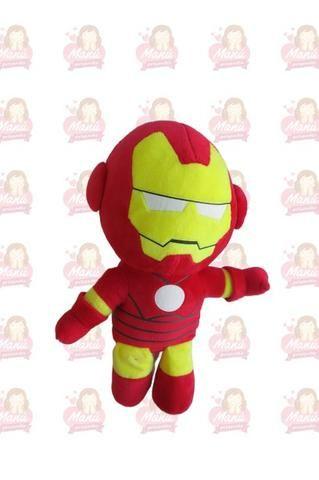 Super Heróis em Pelúcia - Kit com 5 Unidades - Foto 6