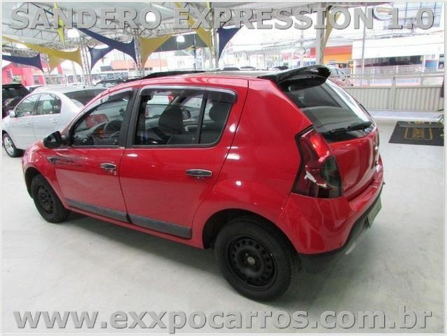 Renault Sandero Expression 1.0 Flex - Ano 2010 - Teto Solar - Bem Conservado - Foto 11