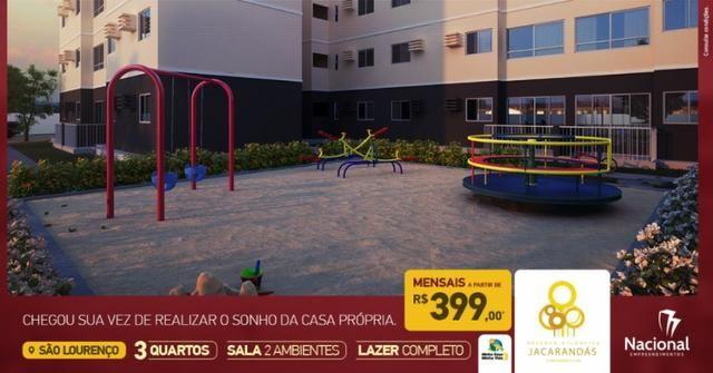 ' Promoção! Apartamento em São Lourenço Com 3 Quartos e Documentação Grátis - Foto 6