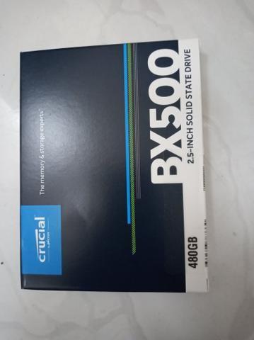 SSD 480gb kinkiston ou crucial - Foto 2