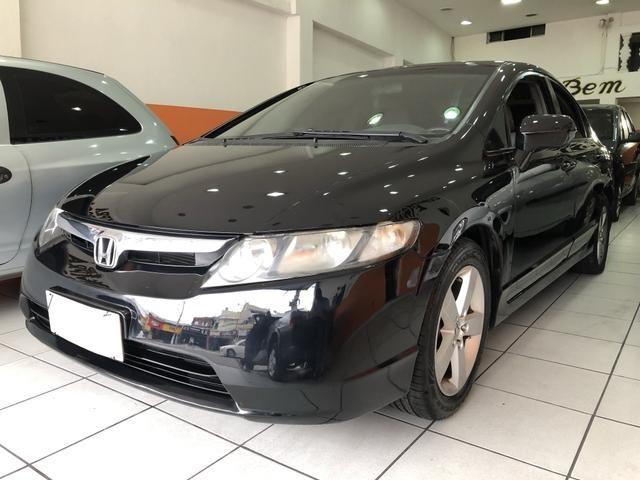 Honda Civic LXS - 1.8 Aut. Flex / Completo - Foto 2