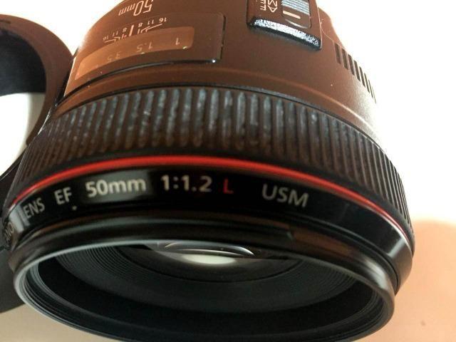 Lente EF 50mm f/1.2L USM - Foto 4