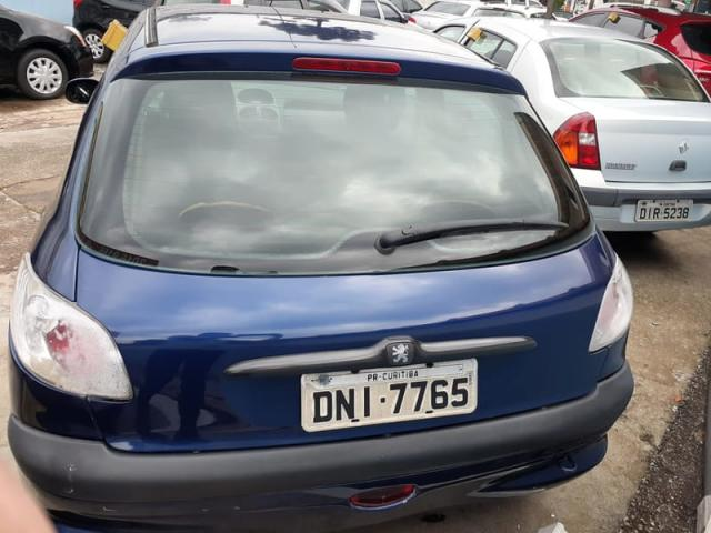 PEUGEOT 206 HATCH TECHNO 1.0 16v  2004 - Foto 6