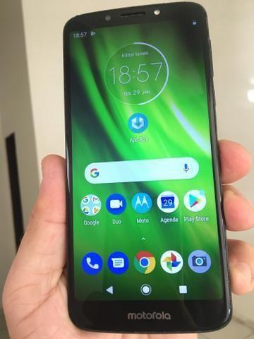 Moto g6 play indico 32gb biometria e facial - Foto 2
