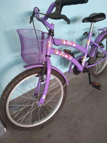 Bicicleta infantil princesa Sophia - Foto 2