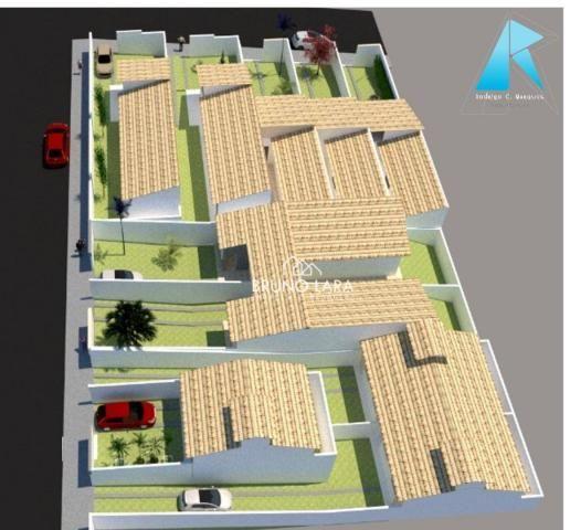 Casa com 3 dormitórios à venda, 70 m² por R$ 170.000 - Planalto - Mateus Leme/MG - Foto 6
