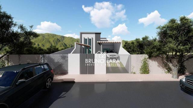 Casa com 3 dormitórios à venda, 70 m² por R$ 170.000 - Planalto - Mateus Leme/MG