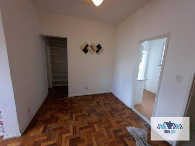 Excelente Apartamento com 1 dormitório 2 banheiros  para alugar, 50 m² por R$ 1.100/mês -  - Foto 7