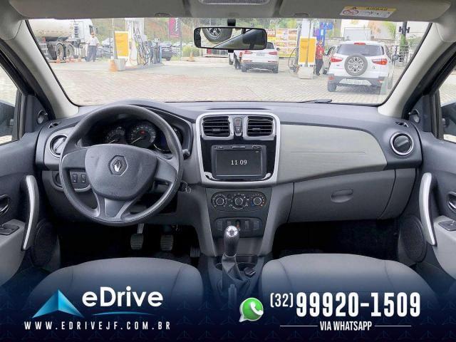 Renault Logan Expression Flex 1.6 16V 4p - Muito Espaçoso - Uber - Família - Novo - 2020 - Foto 8
