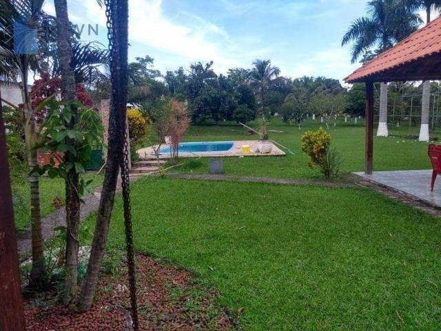 Chácara com 2 dormitórios à venda, 10000 m² por R$ 450.000 - Caluge - Itaboraí/RJ - Foto 6