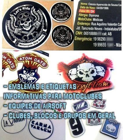 Barretos - Patches Aplicações Emblemas Etiquetas para Roupas - Foto 4