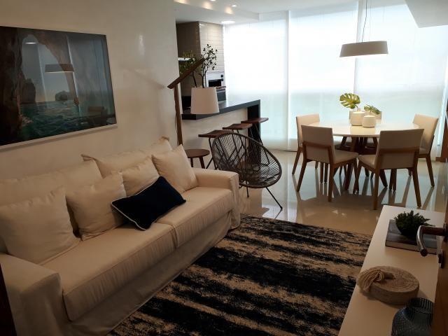 Apartamento 2 quartos decorado no Centro. Edifício com área de lazer
