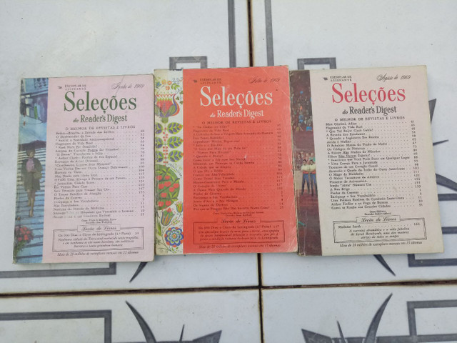 10 Revistas SELEÇÕES do ano de 1969 - Foto 3