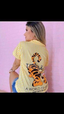 T-shirt estampada  - Foto 4