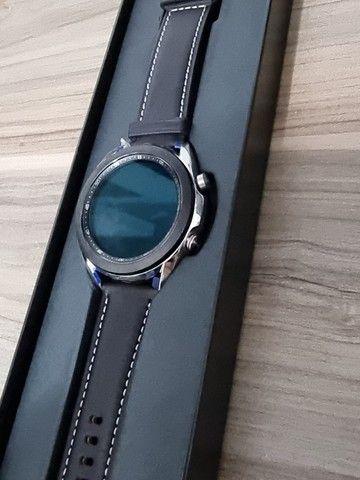 Smartwatch Samsung Galaxy watch 3 - Prata - 41 mm - Foto 4