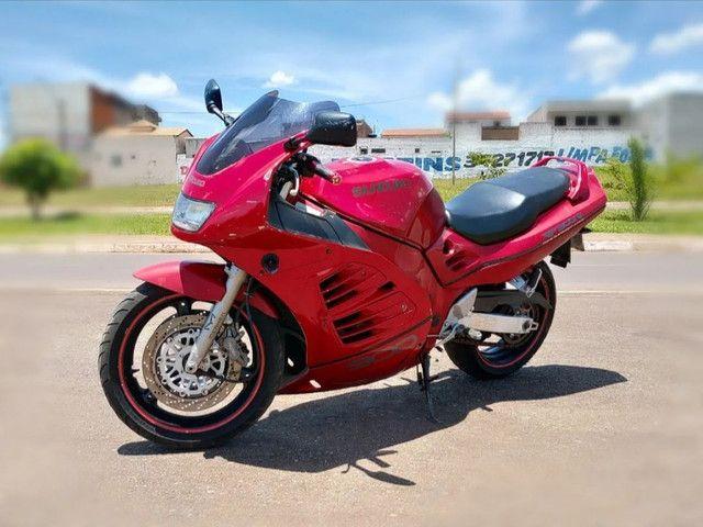 Moto Esportiva Suzuki Rf900r Vermelha<br><br> - Foto 8