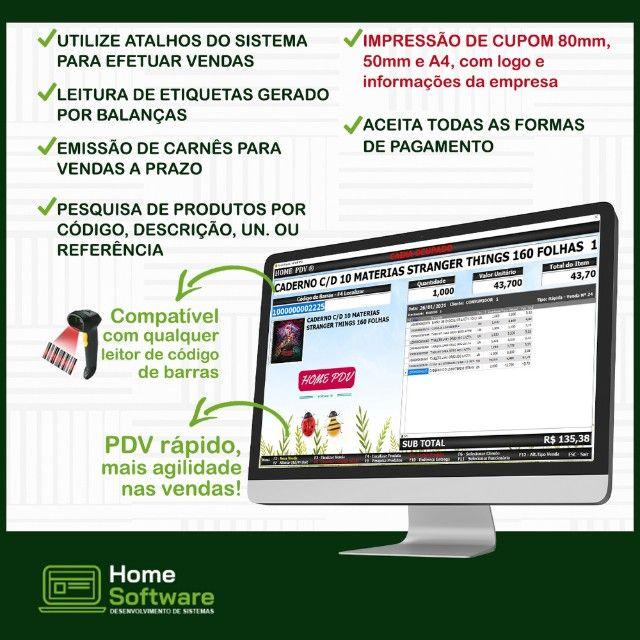 Sistema PDV, Controle Entradas, Estoque, Caixa, etiquetas - Araçatuba   - Foto 4