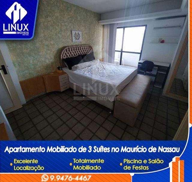 Alugo Apartamento mobiliado de 04 quartos (03 suítes), em Caruaru/PE - Foto 10