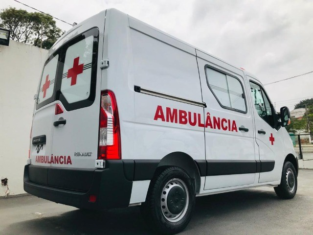 Renault Master Ambulância L1H1 Simples Remoção 2022 - Foto 4