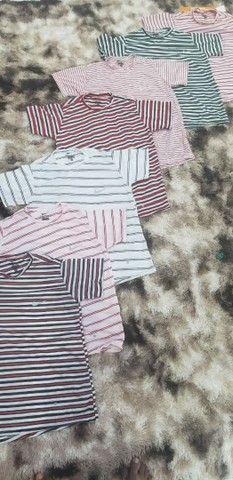 Promoção pra zerar o estoque camisa,short e camisetas 4,99 - Foto 2