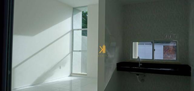 Casa com 3 dormitórios sendo 2 suítes à venda, 88 m² por R$ 219.000 - Timbu - Eusébio/CE - Foto 5