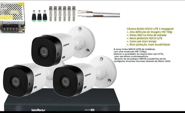 Kit Camera Intelbras