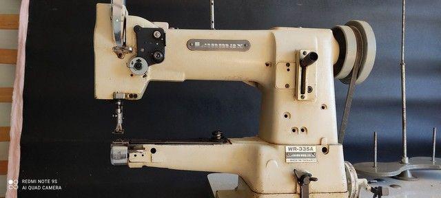 Máquina transporte triplo de braço lamax modelo 335
