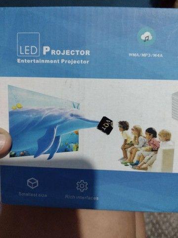 projetor via USB para celular.