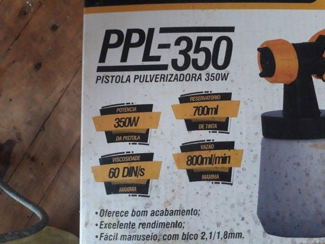 Pistola pulverizadora Lynus PPL 350 - Foto 2