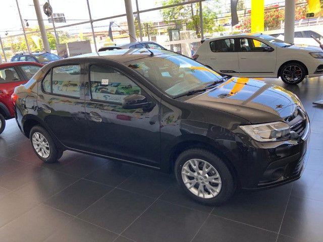 Renault Logan Zen 2022 com Entrada + 48X DE R$ 1.045,00 + parcela final.