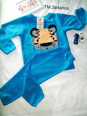 Pijamas menino é menina - Foto 6