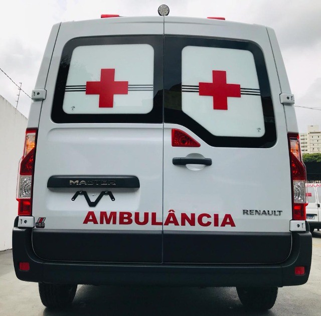 Renault Master Ambulância L1H1 Simples Remoção 2022 - Foto 5