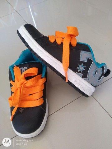 Tênis DC Shoes infantil - Foto 3