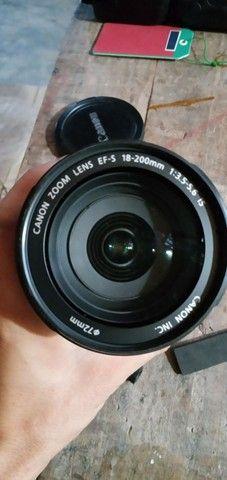 Vendo lente 18 200mm canon - Foto 2