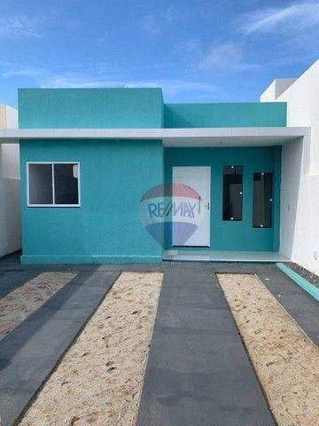 Casa com 2 dormitórios à venda, 60 m² por R$ 139.990 - Santa Rosa - Palmares/PE - Foto 2