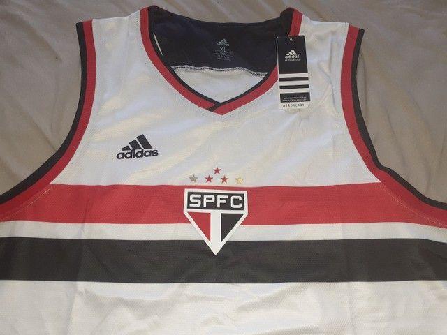 Camisa basquete do São Paulo 20/21 - Foto 3