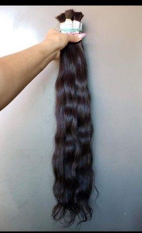 CABELO PARA MEGA HAIR ONDULADO  - Foto 2