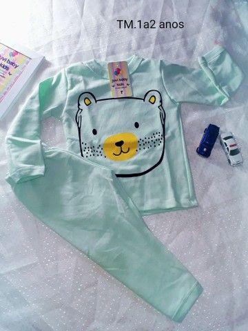 Pijamas menino é menina