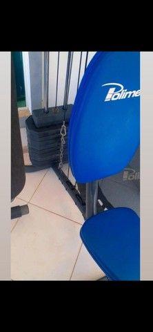Maquina de academia ( Estação muscular completa ) - Foto 4